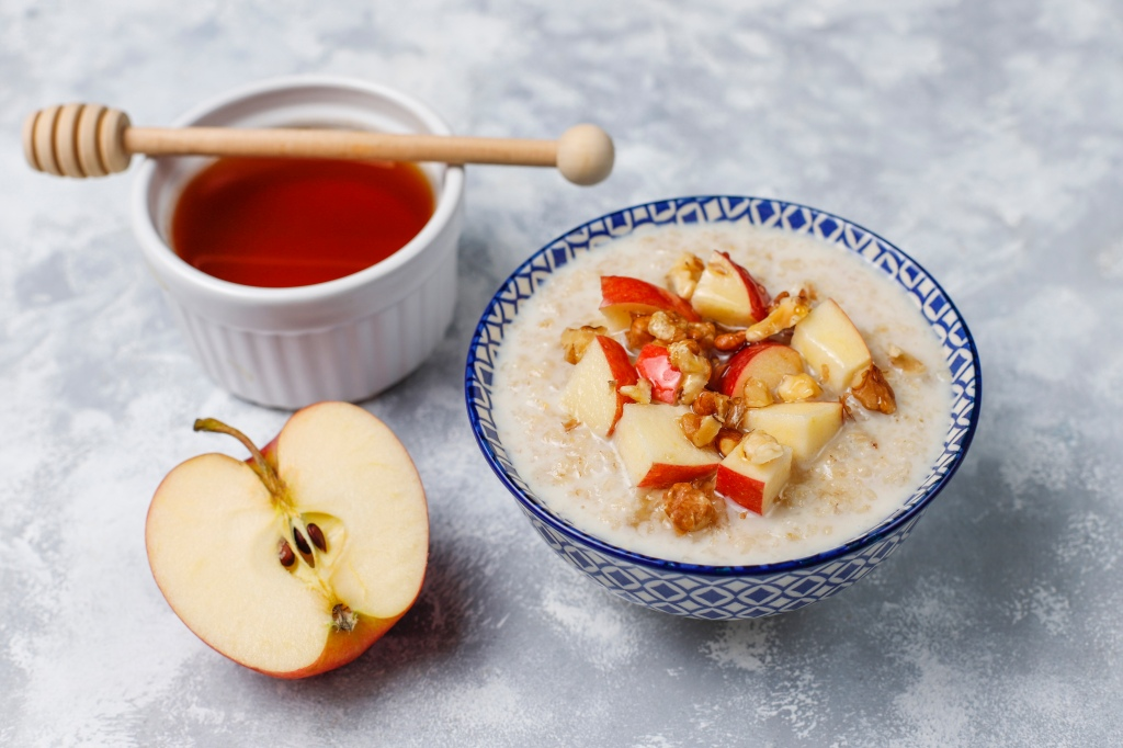 Apple porridge