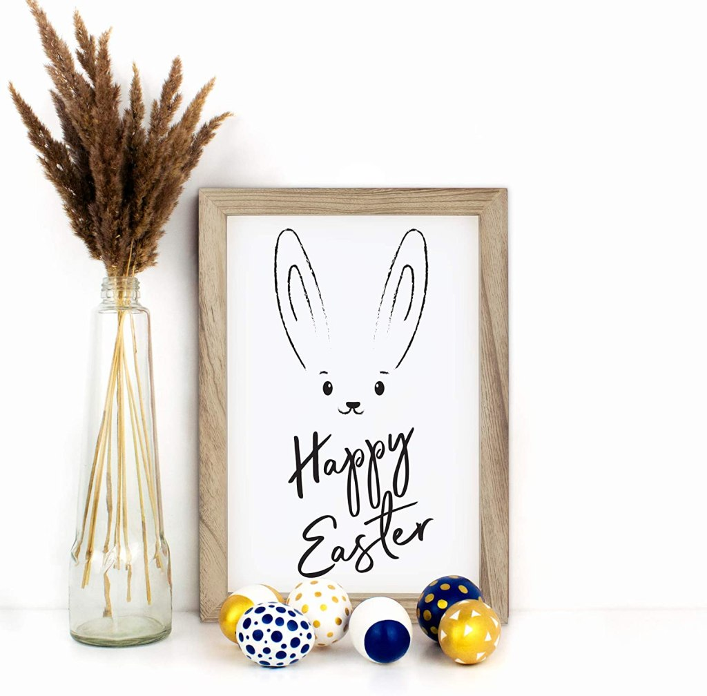 easter wall sign